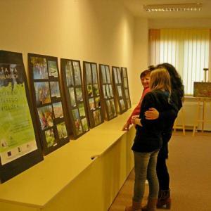 """Wystawa prac malarskich """"Szlakiem Starego Wisłoka"""" (16.11.2012)"""