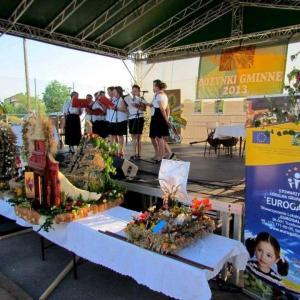Dożynki Gminne w Krasnem (18.08.2013)