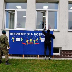"""""""Biegniemy dla Hospicjum"""" w Nienadówce (21.11.2015)"""