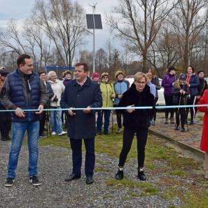 Otwarcie tras Nordic Walking w gminie Trzebownisko (13.11.2019)