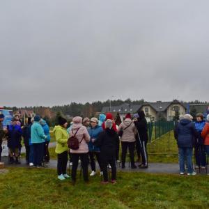 Otwarcie tras Nordic Walking w gminie Głogów Młp. (20.11.2019)