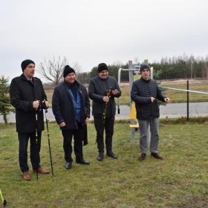 Otwarcie tras Nordic Walking w gminie Kamień (22.11.2019)